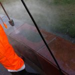 cleaning-stone-with-high-pressure-washer