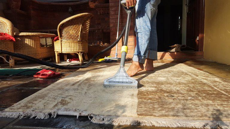Proccess 4: Carpet, Galaicha and Rugs drying