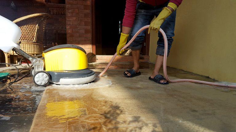 Proccess 3: Carpet, Galaicha and Rugs Rinsing