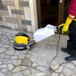 Marble and chips polishing service in kathmandu, Nepal