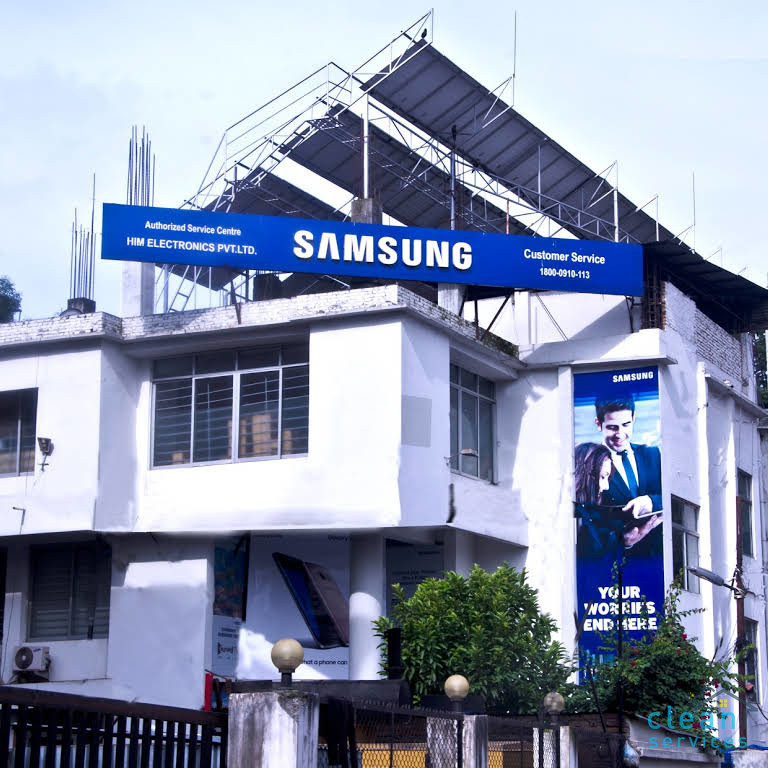 Water tank cleaning - Samsung Service Plaza- Nepal