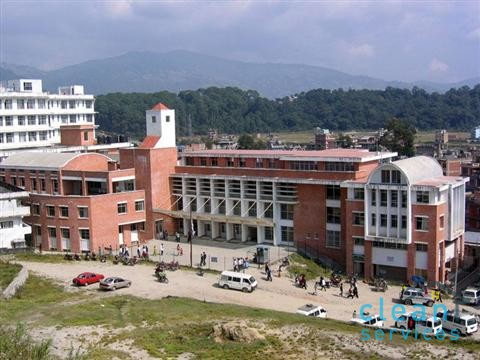 Water tank cleaning - Nepal Medical College -Nepal